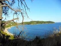 Île grecque Skiathos Photographie stock libre de droits