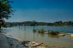 Île Guatemala Amérique Centrale d'Isla De Flores image stock