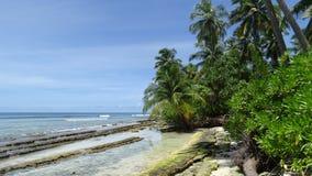 Île-hôtel de Filitheyo Image stock