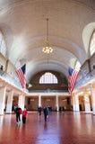 Île hall grand de New York City Ellis Photo libre de droits