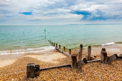 Île Hampshire Angleterre de Hayling photos libres de droits