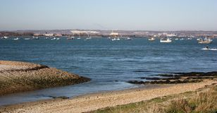 île hayling Image stock