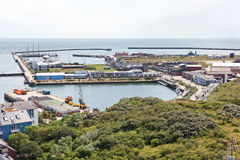 Île Helgoland en Allemagne images libres de droits