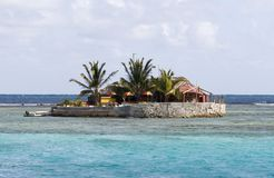 Île heureuse, île des syndicats, la Caraïbe orientale. Photo stock