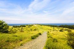 Île Hiddensee en Allemagne Photos libres de droits