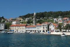 Île Hvar, Croatie photo stock