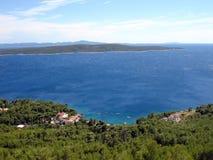 Île Hvar, Sveta Nedelja Photo stock