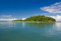 Île indiscrète de Tanikely Photos stock