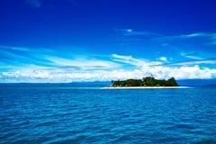 Île inférieure de récif de barrière grand Photos libres de droits