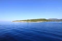 Île ionienne Images libres de droits