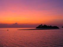 Île isolée Photos libres de droits