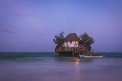 Île isolée Image libre de droits