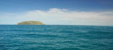 Île isolée Photographie stock libre de droits