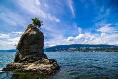 Île isolée Images stock