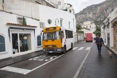 ÎLE ITALIE DU SUD DE CAPRI - 6 NOVEMBRE : passager d'île de capri photographie stock