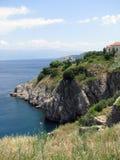 Île Krk dans le proche de Vrbnik Photos libres de droits