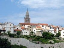 Île Krk Vrbnik Images libres de droits
