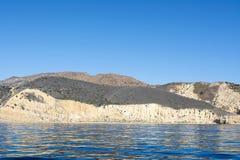 Île la Californie de la Manche Image stock