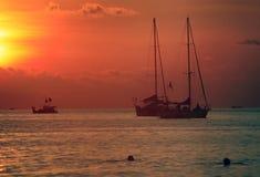 Île Langkavi Photos stock
