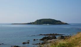 Île les Cornouailles Angleterre de Looe Photos stock