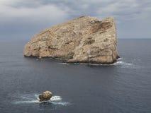 Île méditerranéenne 2 de côte Images stock