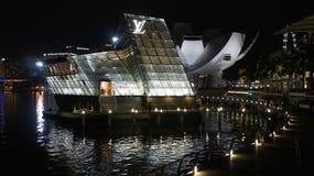 Île Maison, Singapour de Louis Vuitton Images libres de droits