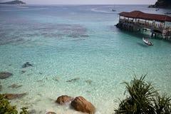 Île Malaisie de Perhentian Photos stock