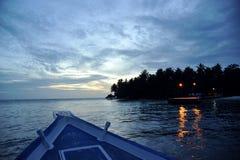 Île Maldives de Bandos Images libres de droits
