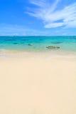 Île maldivienne Image libre de droits