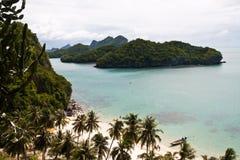 Île merveilleuse d'ANG-lanière, Thaïlande Images libres de droits