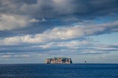 Île minuscule de Drangey Images stock