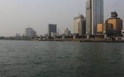 Île Nigéria de Lagos Photos libres de droits