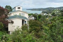 Île Nouvelle-Zélande de Waiheke Photographie stock libre de droits
