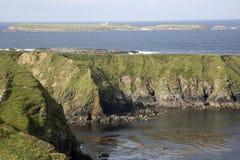 Île outre de Malin Beg, le Donegal, Irlande Photos libres de droits