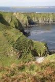 Île outre de Malin Beg, le Donegal, Irlande Image stock