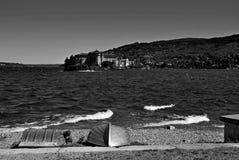 Île Pescatori Image stock