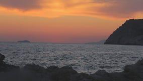 Île près de Dubrovnik, Croatie, banque de vidéos