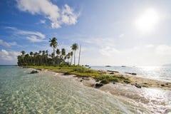 Île près de Sipadan Images libres de droits