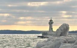 Île Rügen de phare Photo libre de droits