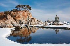Île reflétée 14 Photos libres de droits