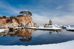 Île reflétée 4 Photo stock