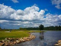 Île Riau Indonésie de Bintan de ciel bleu photographie stock
