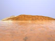 Île rocheuse Photos stock