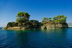 Île romantique. photographie stock libre de droits