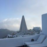Île romantique Grèce de Santorini Image libre de droits