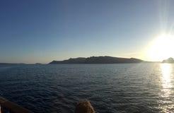Île romantique Grèce de Santorini Photo stock