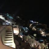 Île romantique Grèce de Santorini Photographie stock libre de droits