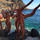 Île romantique Grèce de Santorini Images stock