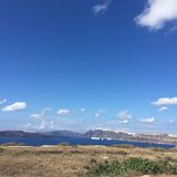 Île romantique Grèce de Santorini Photo libre de droits