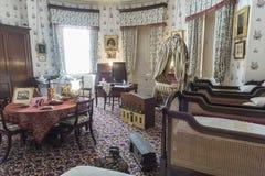 Île royale de Chambre d'Osborne de crèche de Wight photographie stock libre de droits